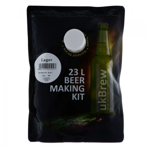 UK Brew - Lager 23L