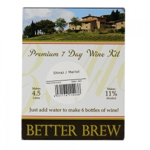 Better Brew Shiraz / Merlot 4,5L