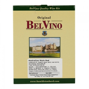 Zestaw winiarski Belvino South African Style Red na 23L