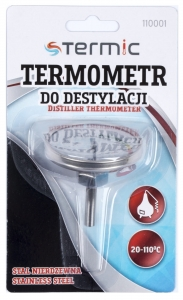 Termometr do destylacji +20°C do +110°C Termic