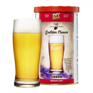 Coopers - Golden Crown Lager 1,7kg NOWOŚĆ!