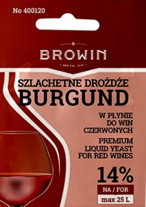 Drożdże do wina płynne BURGUND 20ml