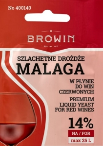 Drożdże do wina płynne MALAGA 20ml