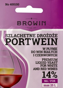 Drożdże do wina płynne PORTWEIN 20ml