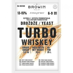 Drożdże gorzelnicze do Whisky Browin TURBO Whiskey