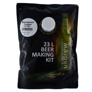 UK Brew -  European Lager 23L